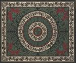 Elephant Print Tapestry Beige
