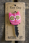 Natural Life Owl Key Cap