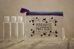 "Natural Life Travel Pouch ""Kindness Matters"""