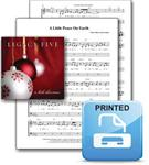 """A Little Peace on Earth"" Sheet Music - Printed"