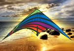 SKYDOG'S DREAM ON STUNT KITE