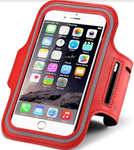 Cell Phone Armband Holder - Red