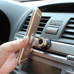 Cell phone magnetic holders - stick on