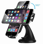 Cell phone dash / windshield holder.- rotating