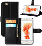 Cell phone black wallet - Iphone 6s Plus