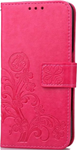 Cell phone clover-leaf red wallet - Iphone 7