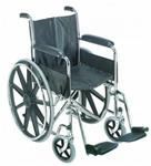 "Wheelchair 18"" with Fixed Armrests"