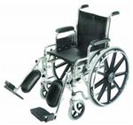 "Wheelchair 18"" with Removable Desk Arms and Elevating Legrests"