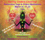 3/20 - 3/22/18 SPRING CHAKRA CLEARING