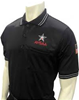 AHSAA Dye-Sublimated Baseball Short Sleeve Black Shirt