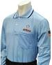 AHSAA Dye Sublimated Softball Long Sleeve Powder Blue Shirt