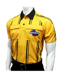 GHSA Dye-Sublimated Short Sleeve Gold Soccer Shirt