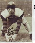 BEDNARIK, CHUCK SIGNED U OF P 8X10 W/INSCRIPTION