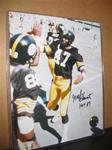 BLOUNT, MEL SIGNED 8X10 HI-FIVE W/INSCRIPTION
