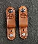 Add Belt Loops for Dual Carry Set of (2) w/Leather Covered Attachment
