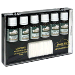 Refill Products - Essential Oil Kit - six 10 ML bottles of essential oils and 25 blank pads