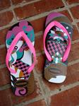 HAVAIANAS ASSORTED FIESTA TROPICAL MULTI-COLORED FLIP FLOPS