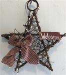 "10"" Decorated Twig Star"