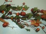 5 Foot Pumpkin Berry Garland