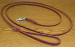 Leather Leash 6' x 1/4""