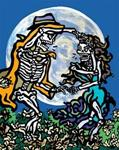 Archival Paper Print- Unframed 'Dance with the Moon'