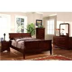 Little Louie Sleigh Bed 7-Piece Suite