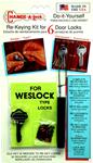 25. WESLOCK®  (5 pin) Rekey Kit