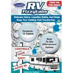 RV FizzytabsTM Reduces Odors, Liquefies Solids, and Helps Keep Your Holding Tank Trouble-Free!