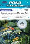 Pond FizzytabsTM Provide a CLEAN Pond for Your Fish!