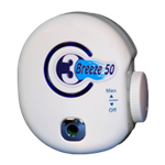 The O3 Breeze 50 Plug-In Adjustable Ozone Air Purifier
