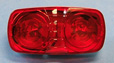 "4""x 2"" Sealed Bullseye LED Marker Lights"