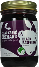 Black Raspberry Jam 12 oz.