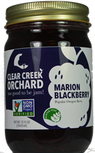 Marion Blackberry Jam, 12 oz.