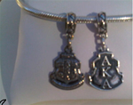 Sorority Shield Dangle-Reversible
