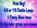 5/8 or 7/8 SHOW BOWS GRAB BAG! 6 bows