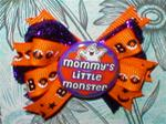 Boutique Mommy's Little Monster Halloween