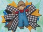 "Boutique Autumn Fun "" Scarecrow """