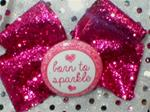 Boutique BORN TO SPARKLE HOT PINK