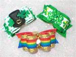 5/8 Pick a St. Partick's Day Dog Bow