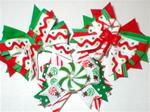 Boutique Chrstmas Candy / Choice Dog Bow