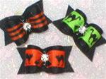 X-SM Choice Halloween Dog Bow