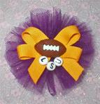 Custom Sports Team College Topknot or Collar Bow