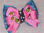 Denim w/ Cute Bee's Soft Bow
