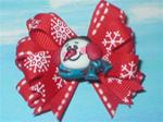 Boutique Christmas Snow Scarf Snowman