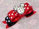 3/8  Minnie Mickey Polka Mouse