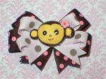 Boutique  Baby Monkey Polka Dot
