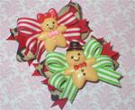 Boutique Christmas Gingerbread Leopard Boy Girl Choice