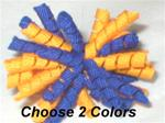 You Choose 2 Colors XXX-sm Korkie Pair for Maltese ect