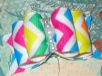 7/8 Classic Chevron  Brights Multi +