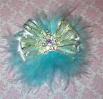 Boutique Marabou Princess Crown in many colors